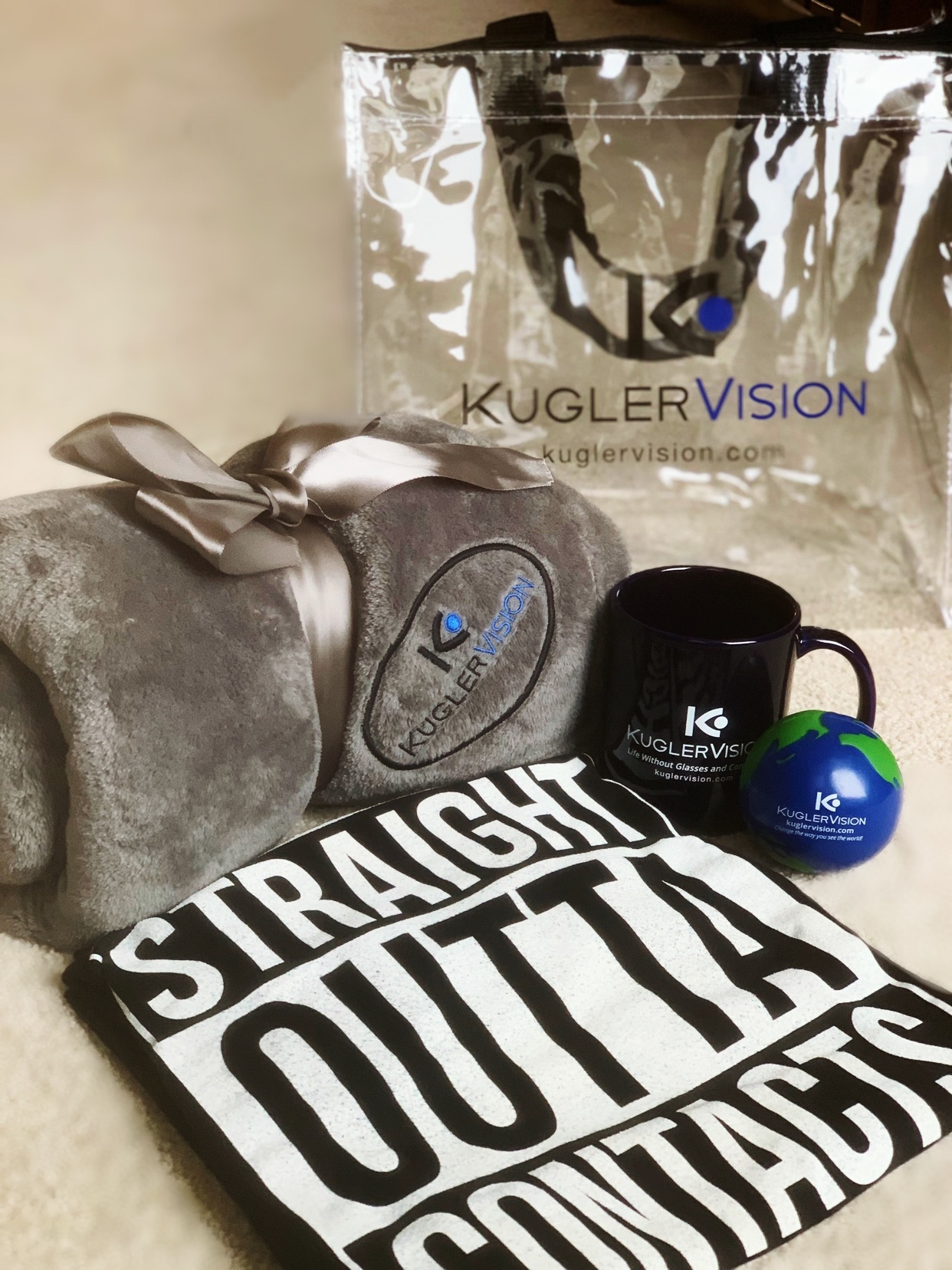 Surgical patients go home with an awesome SWAG bag!