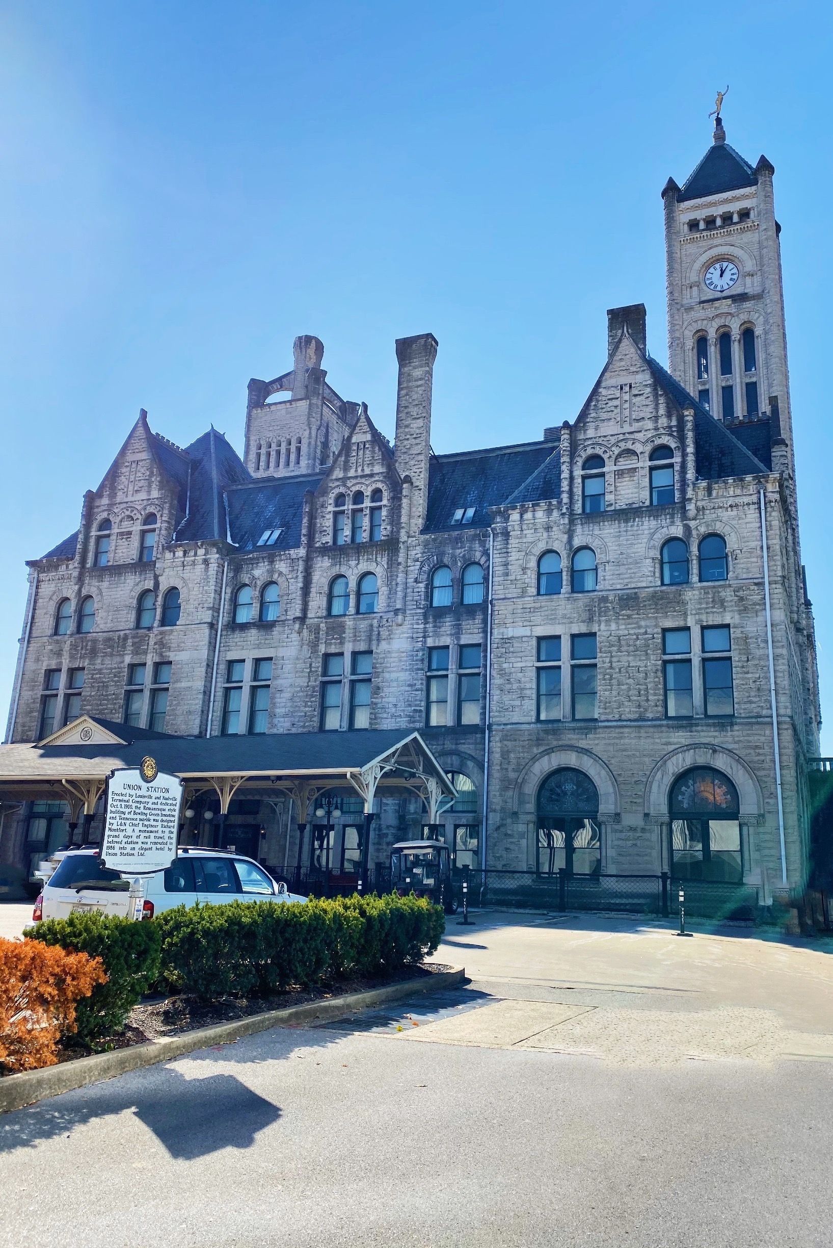 My Stay at the Union Station Hotel in Nashville