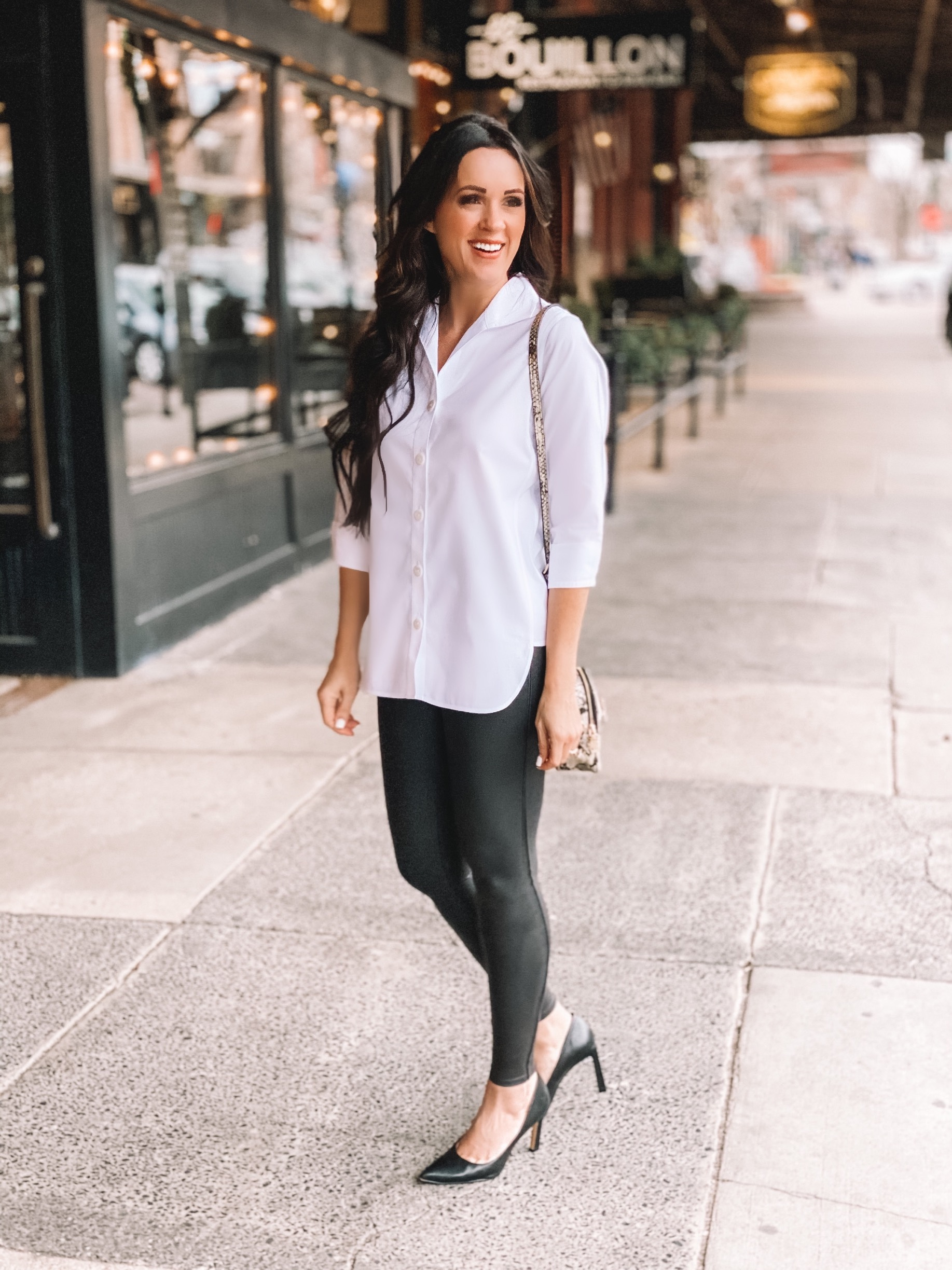 Any shirt that is legging-friendly is a friend of mine!