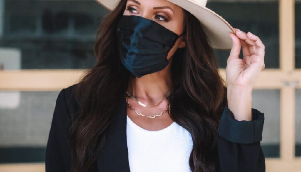 stylish face masks covid-19 face covering 3