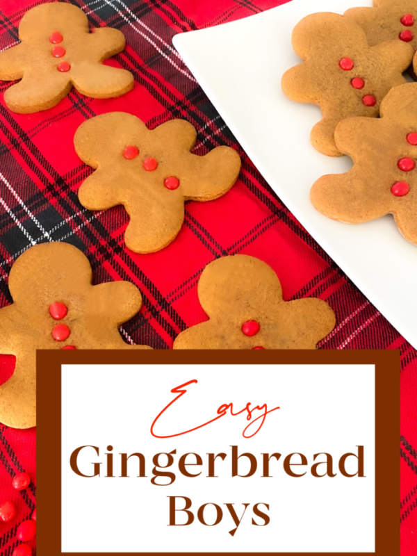 easy gingerbread boy recipe cookie christmas cookes simple neighbor gift holiday cookie exchange 2