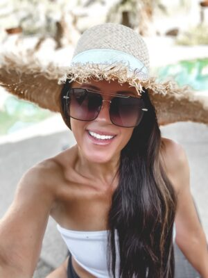 straw hats under $25 vacation looks target amazon cheap affordable summer hats wide brim fringe